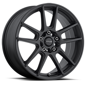 Raceline Wheels 142 Rebel 5 Black