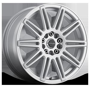 Raceline Wheels 143 Cobalt 5 Silver