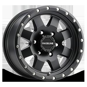 Raceline Wheels 935 Defender 6 Matte Black
