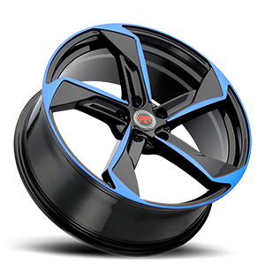 R20 Black/Blue 5 lug