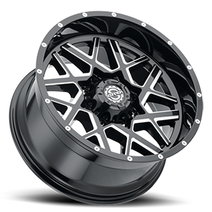 SC-28 Black Milled 8 lug