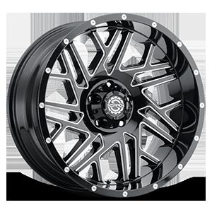 Scorpion SC-29 5 Gloss Black Milled