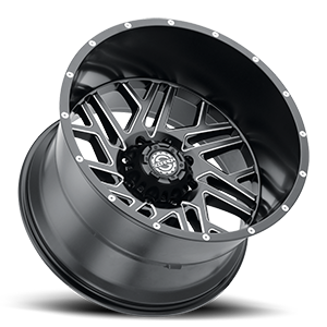 SC-29 Satin Black Milled 8 lug