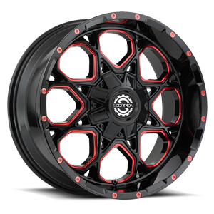 SC-10 Milled Red 6 lug