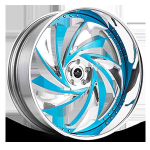 Savini Diamond Carpi 5 Blue Polished