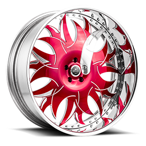 Savini Diamond Ancona 5 Red and Polished