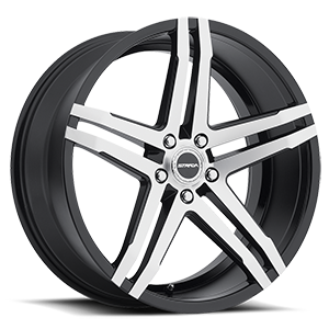 Strada Wheels Domani 5 Gloss Black Machined