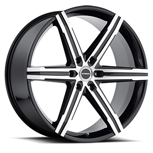 Strada Wheels Filetto 6 Black Machined