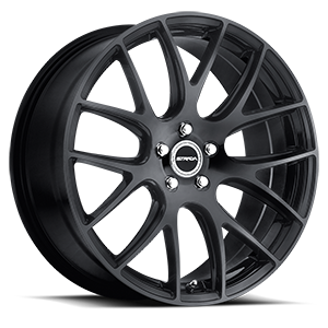Strada Wheels Fuso 5 Black