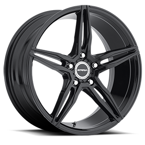 Strada Wheels Malato 5 All Gloss Black