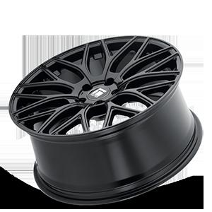 TR76 Gloss Black 5 lug