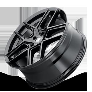 TR79 Gloss Black 5 lug