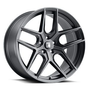 Touren Wheels TR79 5 Brushed Matte Black w/ Dark Tint