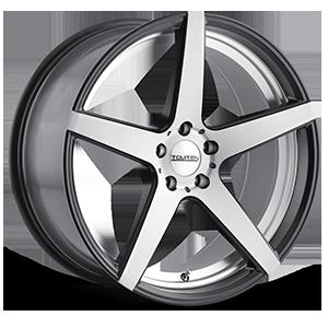 Touren Wheels TR20 5 Black Machined