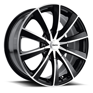 Touren Wheels TR10 4 Black Machined