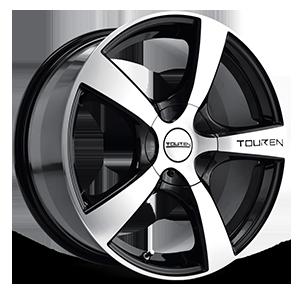 Touren Wheels TR9 4 Black Machined