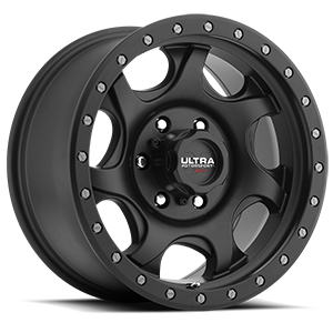 Ultra Motorsports Xtreme 106 Sawblade Xtreme 6 Satin Black with Satin Black X-Lok Lip
