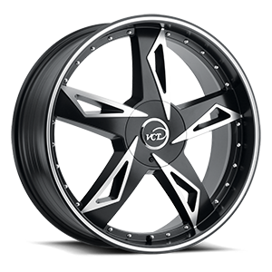 VCT V84 5 Satin Black & Machined