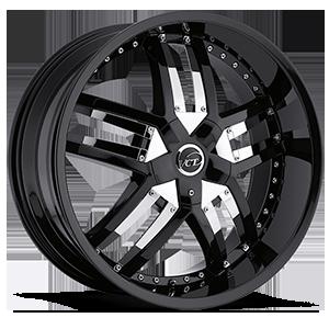 VCT Lombardi 5 Black with chrome v-insert