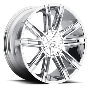 V28 Chrome 5 lug
