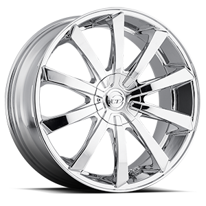 V48 Chrome 5 lug