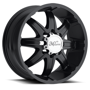 Milanni Wheels 446 Kool Whip 8 8 Matte Black