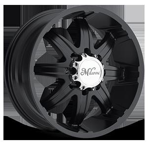 Milanni Wheels 446 Kool Whip 8 8 Matte Black