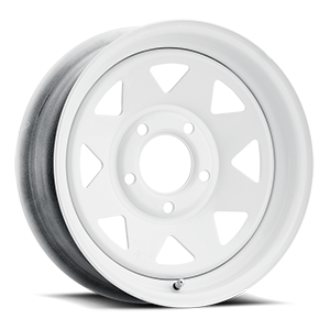Vision HD Truck/Trailer 70 8 Spoke 5 White
