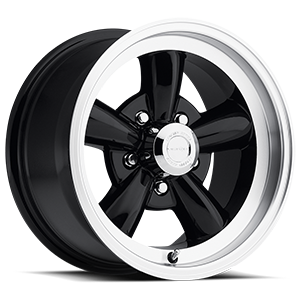 Vision Wheel 141 Legend 5 5 Gloss Black with Machine Lip