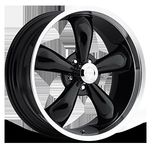 Vision Wheel 142 Legend 5 5 Gloss Black with Machine Lip