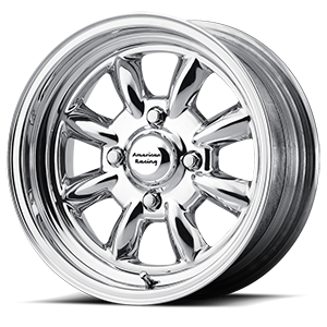 American Racing Custom Wheels VN401 Silverstone 4 Two-Piece Polished