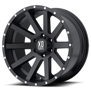XD Series by KMC XD818 Heist 6 Satin Black