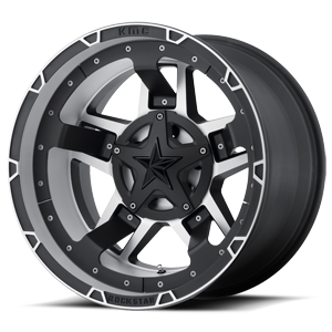 XD Series by KMC XD827 RS3 5 Matte Black Machined