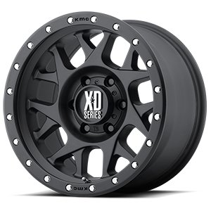 XD Series by KMC XD127 Bully 6 Satin Black
