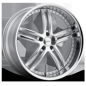 XIX Exotic Alloys X15 5 Silver Machined