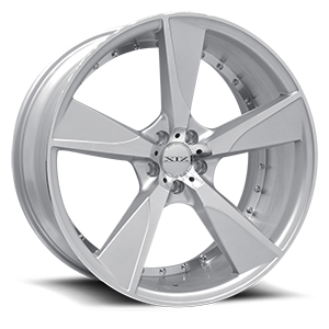 XIX Exotic Alloys X45 5 Silver with Machined Face and Under Cutting Inner Lip