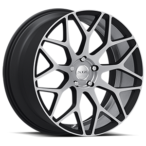 XIX Exotic Alloys X47 5 Black with Machined Face and Under Cutting Inner Lip
