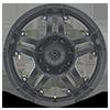 8 LUG AX181 ARTILLERY CAST IRON BLACK