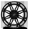 6 LUG XF-204 MATTE BLACK - 24X14