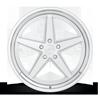 5 LUG 917 BRUSHED W/ GLOSS CLEAR