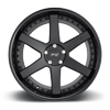5 LUG ALTAIR - M192 SATIN BLACK/GLOSS BLACK