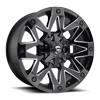 5 LUG AMBUSH - D555 GLOSS BLACK & MILLED