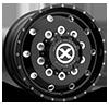 10 LUG AO400HD BAJA - HEAVY DUTY HIGH GLOSS BLACK MILLED - 12.25