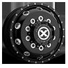 10 LUG AO400HD BAJA - HEAVY DUTY HIGH GLOSS BLACK MILLED - 9.0