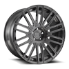 5 LUG AVANT BRUSHED CANDY BLACK
