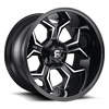 5 LUG AVENGER - D606 GLOSS BLACK & MILLED