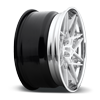 5 LUG ALPINE-D BRUSHED GLOSS CLEAR | POLISHED LIP