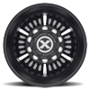 10 LUG AO403 ROULETTE SATIN BLACK MILLED
