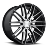 5 LUG ANZIO - M165 GLOSS BLACK & BRUSHED 22X10.5