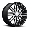 5 LUG ANZIO - M165 GLOSS BLACK & BRUSHED 22X9
